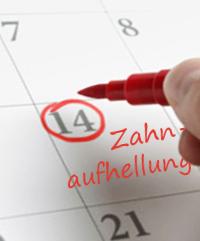 Behandlungsablauf Zahnaufhellung Bleaching Termin Hannover