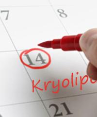 Behandlungsablauf Kryolipolyse, Fettreduktion durch Kälte