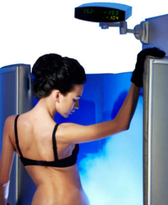 Eissauna Behandlungsgebiete insbesondere Gewichtsreduktion, Hautstraffung, Muskelregeneration