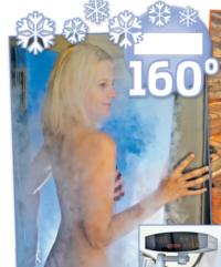 Sauna-Test: eissauna, kryosauna, kältekammer, neue presse