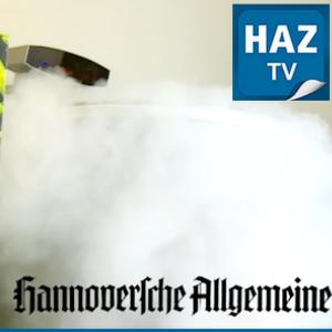 Hannoversche Allgemeine Zeitung TV (HAZ-TV) – Frost for fun in der Eissauna
