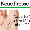 (Deutsch) Tabuthema Achselschweiß