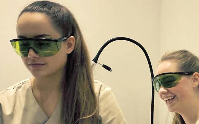 Ablauf Ihrer Laser Behandlung Schutzbrille